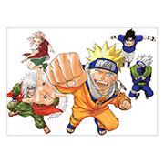 Панорамный постер Naruto